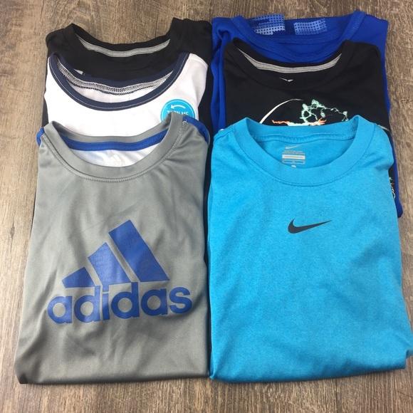 f1614412a Nike Shirts & Tops | 6 Boys 1012 Sports Tshirts Adidas Old Navy ...